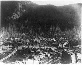 Washington - Index - panoramic view of logging town [Kitchen] - $12.99