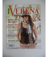 Burda Verena Knitting Magazine Summer 2009 (Verena) [Paperback] by Valer... - $34.64