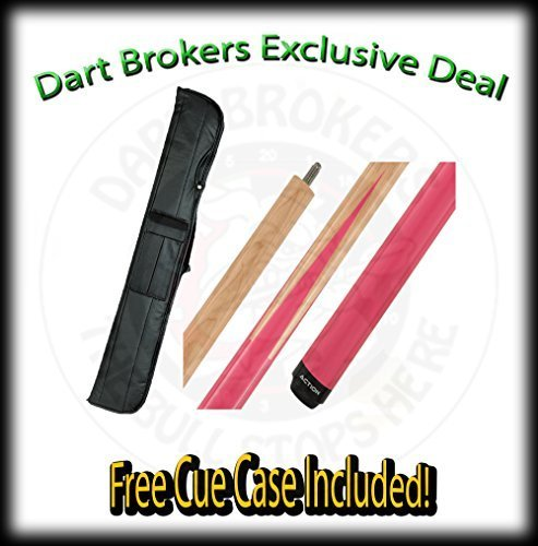 """18 Oz Action Actsp09 Maple with Pink """"Sneaky Pete"""" Design, Two-Piece Billiard..."""