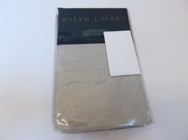 Ralph Lauren 464 TC Percale Pale Flannel Standard Pillowcases NIP - $45.54