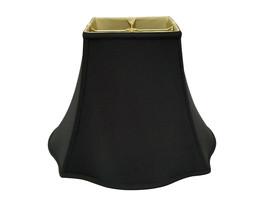 "Royal Designs Flare Bottom Square Bell Lamp Shade, Black, 7"" x 16"" x 12.25"" - $62.99"