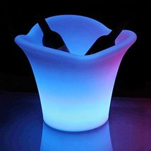 Modern Home LED Glowing Ice Bucket w/Infrared Remote Control - €47,24 EUR