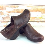 Patagonia Womens Size 8 Better Clogs Brown Pigskin Leather Mules EVA T51100 - $10.88