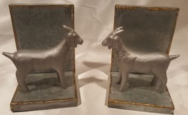 Galvanized Goat Bookends Set of 2 - Hearth & Hand with Magnolia Book End... - $19.79