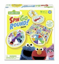 NEW SEALED Wonder Forge Sesame Street Spin Go Round Board Game - $20.31