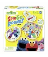 NEW SEALED Wonder Forge Sesame Street Spin Go Round Board Game - $21.77