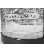 It's a Wonderful Life Snow Globe You Are Now In BEDFORD FALLS snowglobe ... - $19.99