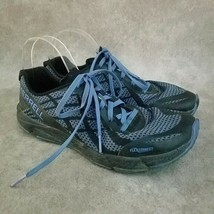 Merrell Womens FlexConnect  Size 8.5 Black Blue Barefoot Athletic Sneakers - $24.99