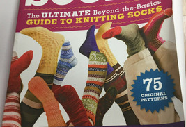The Big Book Socks 75 Original Patterns Ultimate Knit Guide Kathleen Tay... - $19.57