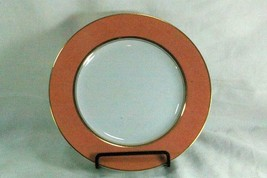 """Gracious Living Apricot Frost Bread Plate 6 3/8"""" - $6.29"""