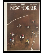 COVER ONLY The New Yorker August 17 1957 Full Cover Theme by Garrett Price - $47.50