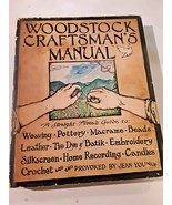 WOODSTOCK CRAFTSMAN'S MANUAL PB Hippie craft guide 1972 1st Ed Young  - $14.84