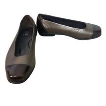 SAS Womens Size 8.5 W Wide Coco Ballet Flat Slip On Shoes Bronze Retail ... - $46.74