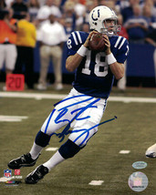 Peyton Manning Signed 8x10 Photograph NFL Authenticated Mounted Memories - $128.69
