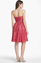 Erin Fetherston Laila Cocktail Strapless Dress Rose Sweetheart 2 Fit And... - $123.75