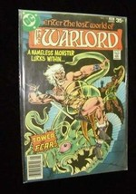 Warlord Comic Book DC Comics #10 January 1978 - $16.99
