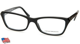 New Emporio Armani Ea 3023 5017 Black Eyeglasses Frame 52-17-140 B34mm - $113.83