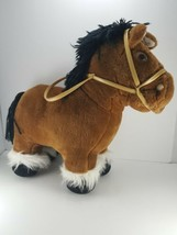 "Vintage 1984 Cabbage Patch Kids Show Pony Horse Plush 15"" No Saddle Free... - $26.72"