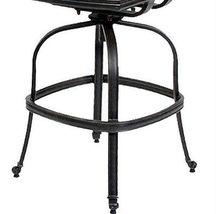 Patio furniture Las Vegas BarStool Arm-Less outdoor cast Aluminum Sunbrella seat image 4
