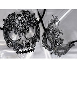 Lovers Men and Women Couple Masks - Skull and S... - $36.95