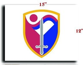 "US Army 403rd Support Brigade SSI CANVAS art print framed stretched 15""x12"" - $20.78"