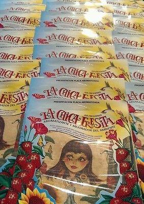 LA CHICA FRESITA BULK  Car Air Freshener  Strawberry Fresa Aromatizante  300PCS