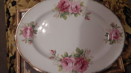 Royal Albert American Beauty Platter bone china England #114 - $59.99