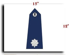 Air Force USAF Officer Lieutenant Colonel Shoulder Service CANVAS art pr... - $20.78