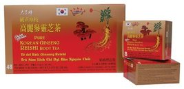 Prince Of Peace - Korean Ginseng Reishi Root Tea Display, 30 bag - $49.01