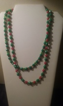 Set Of 2 Handmade Holiday Beaded Necklaces ~SALE SPECIAL PRICE ~ - $6.99