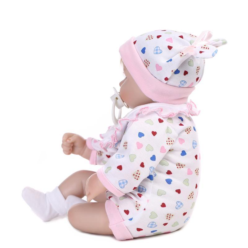 Lifelike Reborn Baby Doll Clothes Silicone Fake