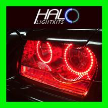 2005 2010 Chrysler 300 C Red Led Light Headlight Halo Kit (4 Rings) By Oracle - $189.99