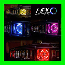 2004-2009 ORACLE HUMMER H2 COLORSHIFT LED LIGHT HEADLIGHT HALO KIT w/REMOTE - $294.99