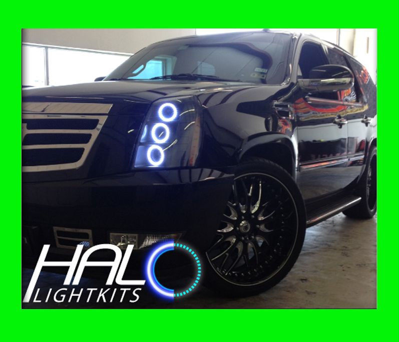 Primary image for 2007-2014 CADILLAC ESCALADE WHITE LED HALO HEADLIGHT KIT by ORACLE LIGHTING