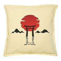 Vietsbay Abstract Background Gate Printed Khaki Decorative Pillows Case ... - $14.39