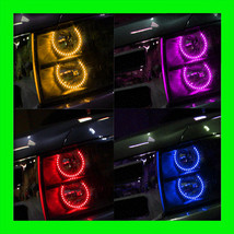 2007-13 ORACLE Chevy Silverado COLORSHIFT LED Headlight Round V1 Halo Ri... - $367.99