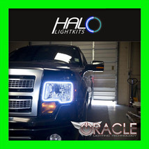 2009-2015 ORACLE Ford F150 & Raptor WHITE LED Halo Angel Eye Headlight R... - $189.99