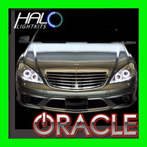 ORACLE LIGHTING 2007-09 MERCEDES S-CLASS W221 WHITE LED Headlight Halo R... - $194.99