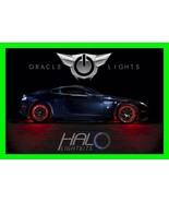 RED LED Wheel Lights Rim Lights Rings by ORACLE (Set of 4) for MINI COOPER - $193.95