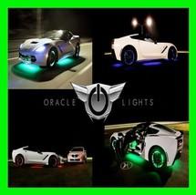 White Led Wheel Lights Rim Lights Rings By Oracle (Set Of 4) For Volkswagen 2 - $169.99