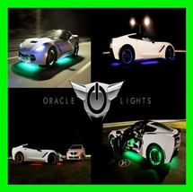 White Led Wheel Lights Rim Lights Rings By Oracle (Set Of 4) For Ford Models 4 - $169.99