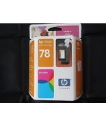 HP 78 Tri-Color Ink May. 2005 NIB NEW OEM Single Unit C6578dn Inkjet - $9.75