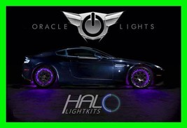 Purple Led Wheel Lights Rim Lights Rings By Oracle (Set Of 4) For Bmw Models 2 - $194.99