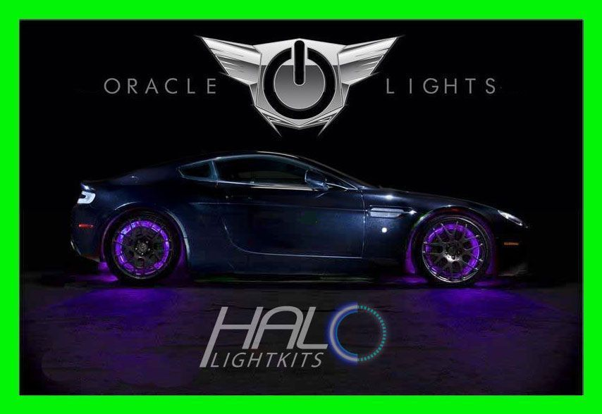 PURPLE LED Wheel Lights Rim Lights Rings by ORACLE (Set of 4) for GMC MODELS 3 - $194.99