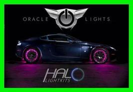 Pink Led Wheel Lights Rim Lights Rings By Oracle (Set Of 4) For Jaguar Models - $194.95