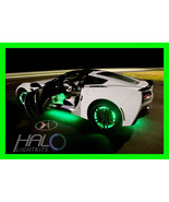 GREEN LED Wheel Lights Rim Lights Rings by ORACLE (Set of 4) for BMW MOD... - $192.99