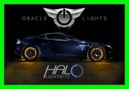 Amber Led Wheel Lights Rim Lights Rings By Oracle (Set Of 4) For Chevy Models 2 - $193.97