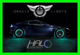 Aqua Led Wheel Lights Rim Lights Rings By Oracle (Set Of 4) For Chevy Models 2 - $195.01