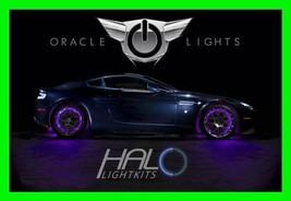 Purple Led Wheel Lights Rim Lights Rings By Oracle (Set Of 4) For Jaguar Models - $194.99