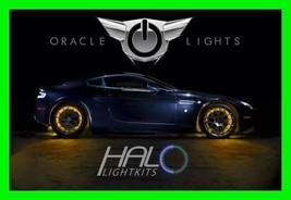 Amber Led Wheel Lights Rim Lights Rings By Oracle (Set Of 4) For Jaguar Models - $193.95